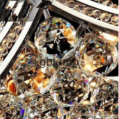 contemporary crystal pendant light 3