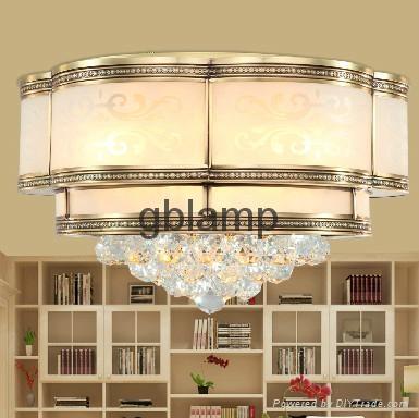 2014 LED K9 decorative crystal chandelier light 1