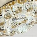 2014 LED K9 decorative crystal chandelier light 5