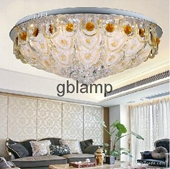 2014 Factory price Most Popular modern crystal ceiling light