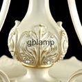White Chandelier Crystal Lamp 4