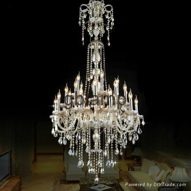crystal pendant lamp with K9 crystal 1
