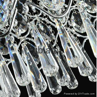 new design Guangzhou tops-lighting bar imitated crystal lamp 3