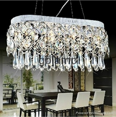 new design Guangzhou tops-lighting bar imitated crystal lamp