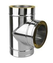 Stainless steel insulated chimneys