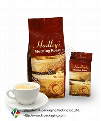Stand up Coffee Packaging Bags with Valve