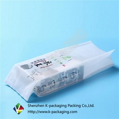 SGS Approved Vacuum Sealed Side Gusset Rice Packing