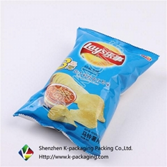 Plastic Modified Atmosphere Chip Packaging Bags