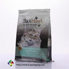 Square Bottom Side Pet Food Packaging
