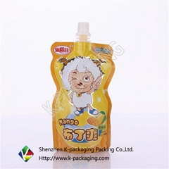 CMYK Gravure Printing Kids Food Packaging Bags