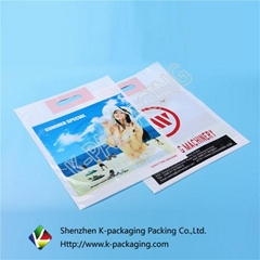 Custom Large Size Gravure Printed HDPE Shopping Bags