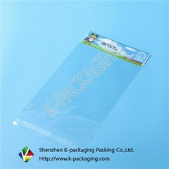 Self-adhesive OPP Plastic Bag with Header