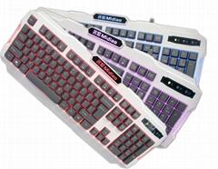3色背光键盘