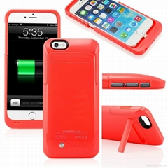 3500mah rechargeable Battery case for iphone 6