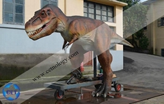 侏羅紀仿真騎行玩具恐龍