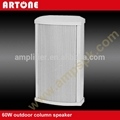 White Waterproof PA Column Speaker for