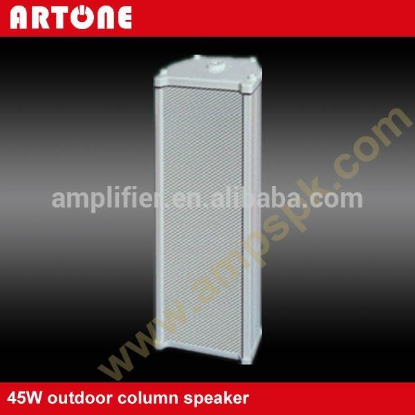 45W White Outdoor PA Column Speaker Waterproof TZ-545 1