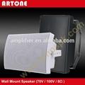Black White 40W 100V 8-ohm PA Wall Mount Speaker BS-540 4