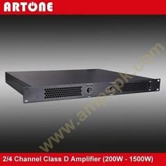 2 Channel 800W 1U Class-D Power Amplifier Module PD-2200