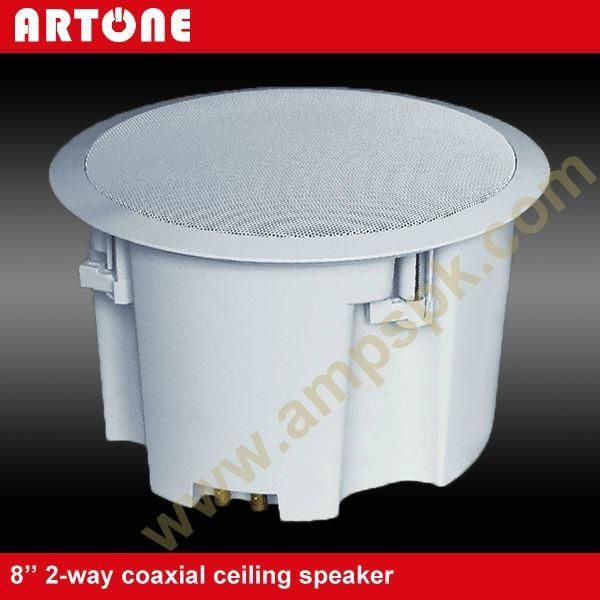 40W High Quality ABS PA Ceiling Speaker with Covers CS-284H 2