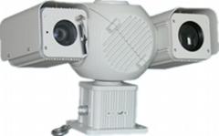 1500m long range thermal PTZ CCTV surveillance camera heat detect fog penetrate