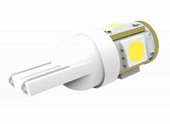 T10 LED automotive fog bulbs W5W 5050SMD*5PCS