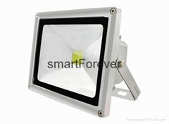 Rectangular 20W Heavy Duty High Powered LED floodlight