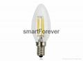 3w e14 energy saving bulb decorative filament lighting bulbs 220-240V AC 250LM 1