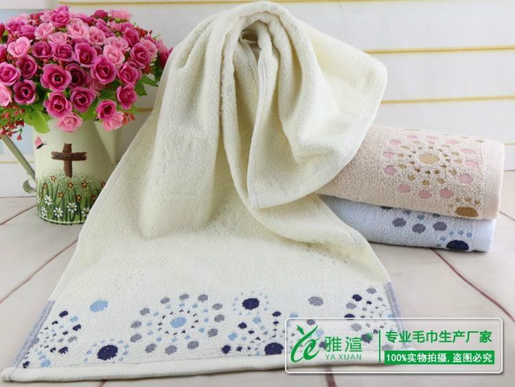 湖北茗雅渲毛巾厂毛巾批发 2