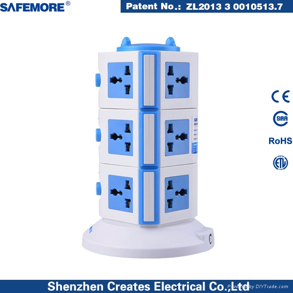 Power Extension Socket Universal Outlet Socket  3