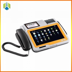 10.1 inch all in one touch screen android pos terminal with thermal printer