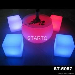Globe Table LED Ball Table Indoor Lounge Furniture Glowing Taproom Furni