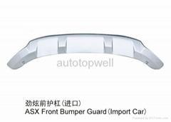 Mitsubishi ASX front and rear bumper guard
