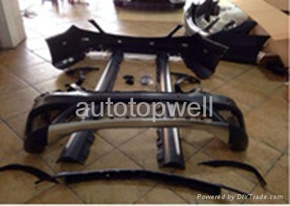 Benz S-class W222 S63 S65 AMG body kits 1