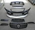 Benz W176 A45 AMG bodykits front bumper 1