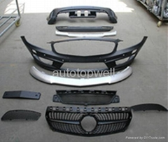 Benz W176 A45 AMG bodykits front bumper