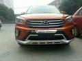 Hyundai IX25 front and rear bumper guard