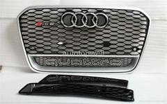 Audi A6 C7 RS6 bumper grill 2013-2014