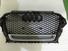 Audi A3 RS3 mesh grill 2013 without quattro emblem