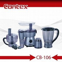 CB-106 300W Powerful 6 IN 1 FOOD PROCESSOR