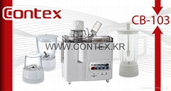 CONTEX 1.25L 350W 4 IN 1 FOOD PROCESSOR