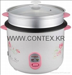 CONTEX 2015 Hot Sale CR-663 2.8L1000W Straight Rice Cooker With Aluminum heat pl