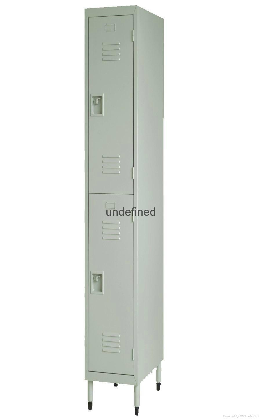cheap 2 tiers door steel locker for sale 1