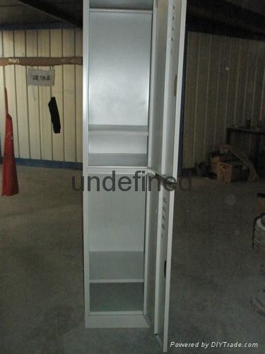 cheap 2 tiers door steel locker for sale 2