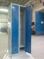 cheap 2 tiers door steel locker for sale 4