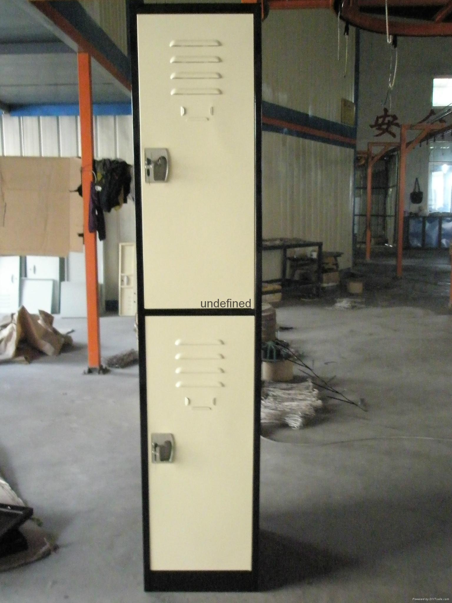 cheap 2 tiers door steel locker for sale 5