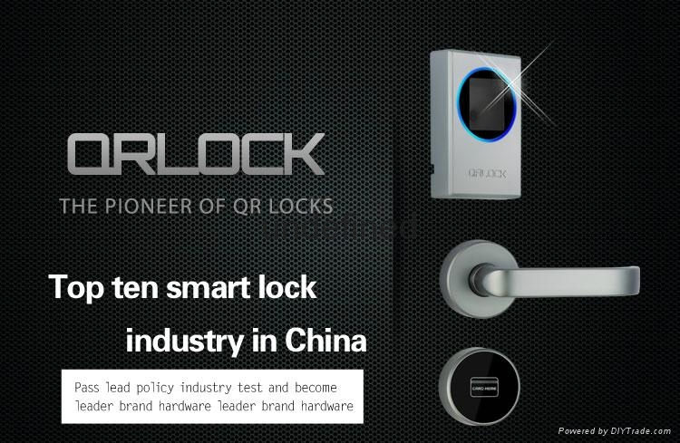 Encrypted Cell Phone >> QR code hotel door lock open with cell phone - QR-01F3-JH (China Manufacturer) - Door Lock ...