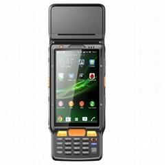 5 inch dual core ips screen sun readable wfi gps handheld fingerprint reader pda