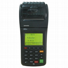 Handheld mifare nfc m1 card reader with gprs printer