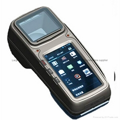4.3 inch android Pos including Mifare RFID, 2D barcode scanner and printing